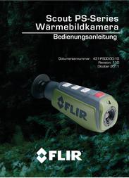 FLIR WÄRMEBILDGERÄT SCOUT PS 24 31344 Data Sheet