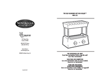 Nostalgia Electrics HDR-535 User Manual