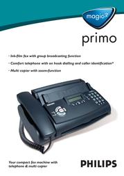 Sagem Philips Magic3 primo PPF531/NLB Leaflet