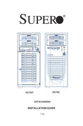 Supermicro CSE-733I-300 MT 300W CSE-733I-300 User Manual