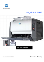 Konica Minolta PagePro 1350W User Manual