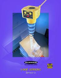 Banner U-Gage Ultrasonic Sensor User Manual