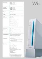 Nintendo Wii Console + Wii Fit Plus Bundle 2101249 Leaflet