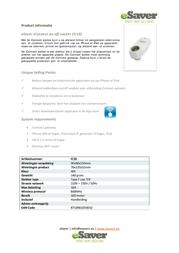 Esaver IC10 Data Sheet