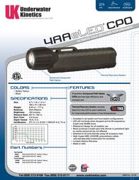Underwater Kinetics UK4AA eLED CPO Tail Switch 14457 Leaflet