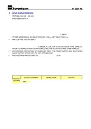 Seventeam ST-300P-AE Leaflet