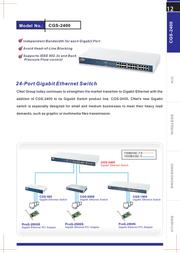 Cnet CGS-2400 Leaflet