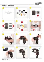 Lastolite STROBO KIT B90040 User Manual