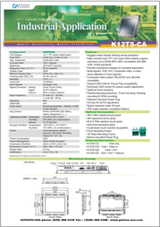 GVision K10AS-CA-0010 Leaflet