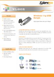 SparkLAN WL-685R Leaflet