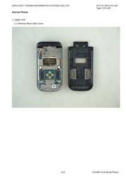 Toshiba Information Systems Ltd Mobile Communications Division CC4-J03 Internal Photos