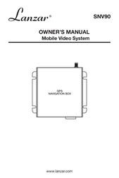 Lanzar SNV90 User Manual