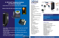 XBLUE Networks X-50 WiFi VoIP Phone XB47-9009 Leaflet