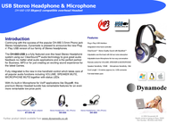 Dynamode DH-660-USB DH660USB Merkblatt