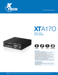 Xtech XTA-170 Leaflet