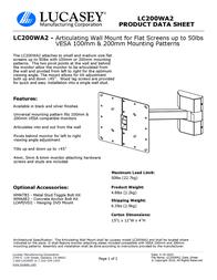 Lucasey LC200WA2 Product Datasheet