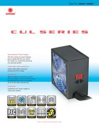 CoolMax CUL-850B Leaflet