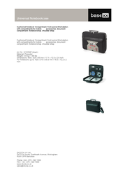 basexx Universal Notebookcase N12238P Leaflet