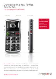 Deutsche Telekom Emporia TALKcomfort 15031013272 Leaflet