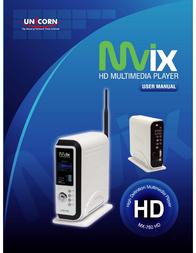 Mvix MX-760HD User Manual