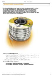 Hicon HIA-240-2000 Speaker Cable, , Transparent Sheath HIA-240-2000 Data Sheet