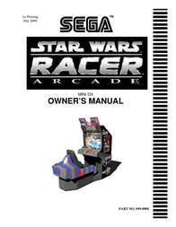 SEGA Barcode Reader 999-0988 User Manual