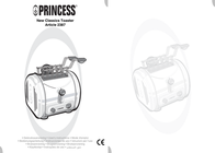 Princess New Classics Toaster 2387 2387 User Manual