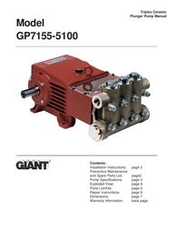 Giant Coffeemaker GP7155-5100 User Manual