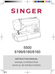 SINGER 6160 User Manual