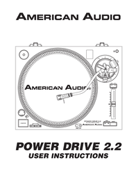 American Audio POWER DRIVE 2.2 User Manual