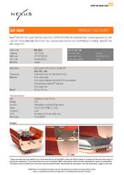 Nexus XiR-3500   Socket 1366/775/AM3/AM2   Copper Edition XIR-3500 Leaflet