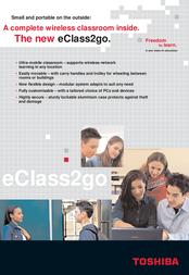 Toshiba eClass2go II Base Module PX1066E-1SOL Leaflet