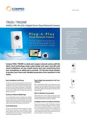 Compro TN30W Data Sheet