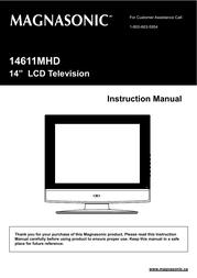 Magnasonic 14611MHD User Manual