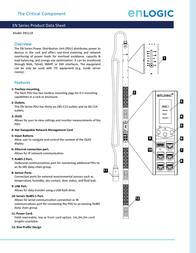 Enlogic EN1119 Data Sheet