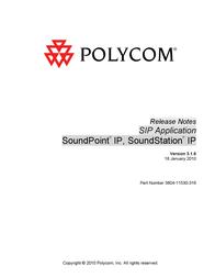 Polycom SoundStation IP 4000 2200-06640-015 User Manual