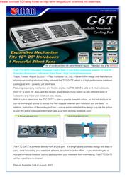 Titan TTC-G6TZ Leaflet
