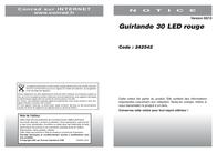 Mayerhofer Modellbau 80000 Steady light- fairy lights 30 LEDs 80000 Data Sheet