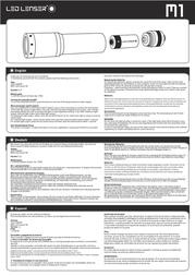 Led Lenser 8301 Leaflet