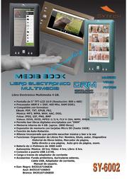 Sytech SY-6002A Leaflet