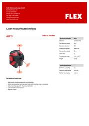 Flex ALP 3 350.680 Leaflet