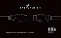Energy Sistem HDMI Cable 1.5m 34445 User Manual