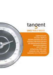 Tangent Uno Table Radio - Walnut 03510800 User Manual