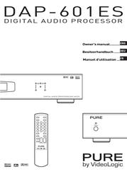 Pure Acoustics DAP-601ES User Manual