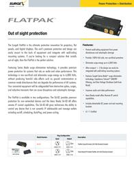 SurgeX SA-82 Leaflet