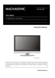 Magnasonic 32612MHD User Manual