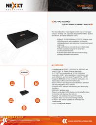 Nexxt Solutions ASBDT84U1 Leaflet