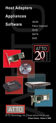 Atto FCBR-2400 SCSI BRIDGE FCBR-2400-DR0 Brochure