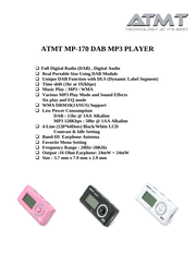 ATMT MP170 User Manual