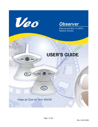 Veo 802.11b User Manual